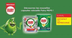 Capsules Lave-vaisselle FAIRY 100% Remboursé