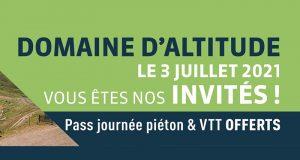 Pass Piétons et VTT offert au Domaine d'altitude Serre Chevalier