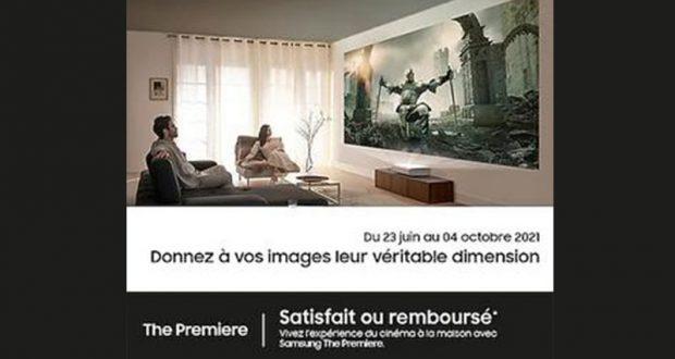Projecteur The Premiere Samsung 100% Remboursé