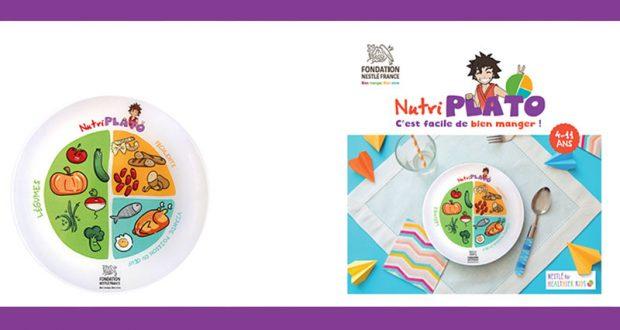 Recevez gratuitement un Kit Nestlé Nutri Plato