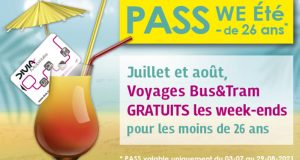 Transport gratuit les week-ends de Juillet et Août