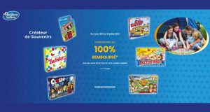 Votre second Jeu Hasbro 100% Remboursé