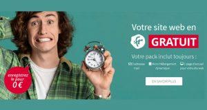 Votre site web en .fr GRATUIT