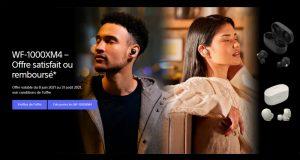 Écouteurs sans fil à réduction de bruit Sony 100% Remboursé