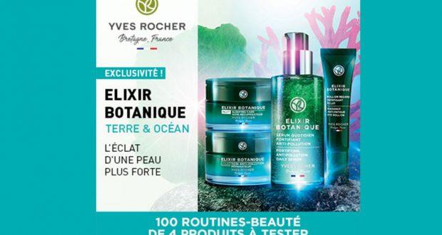100 routine-beauté Élixir Botanique de Yves Rocher à tester