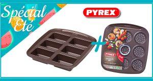 15 lots de 2 moules en métal PYREX offerts