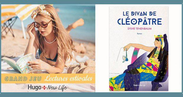 20 romans Le divan de Cléopâtre de Sylvie Tenebaum offerts