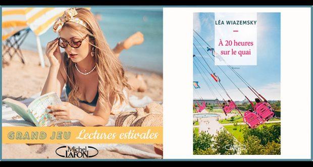 20 romans À 20 heures sur le quai de Léa Wiazemsky offerts