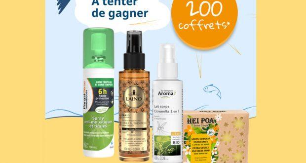 200 lots de 4 produits de soins Gilbert offerts