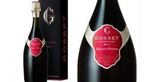 31 bouteille de Champagne Gosset Brut Grande Réserve offertes