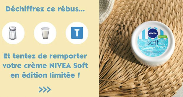 5 produits de soins Nivea offerts