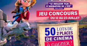 50 lots de 2 places de cinéma pour le film d'animation Pil offerts