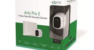 6 caméras de vidéo surveillance Arlo Pro 2 offertes