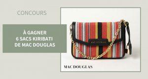 6 sacs MAC DOUGLAS Kiribati offerts