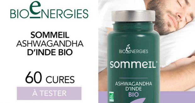 60 Sommeil Ashwagandha de Bioénergies à tester