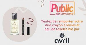 72 duo crayon à lèvres et eau de toilette offerts