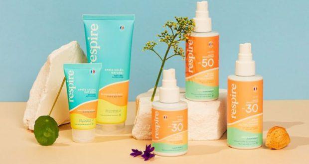 Des produits de soins solaires Respire offerts