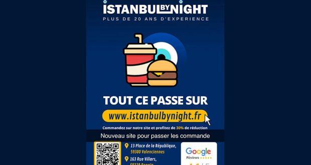 Menu kebab offert - Istanbul by Night