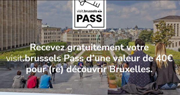 Pass de 40€ par foyer offert pour visiter Bruxelles