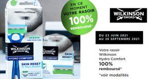 Rasoir Hydro Comfort Wilkinson 100% Remboursé