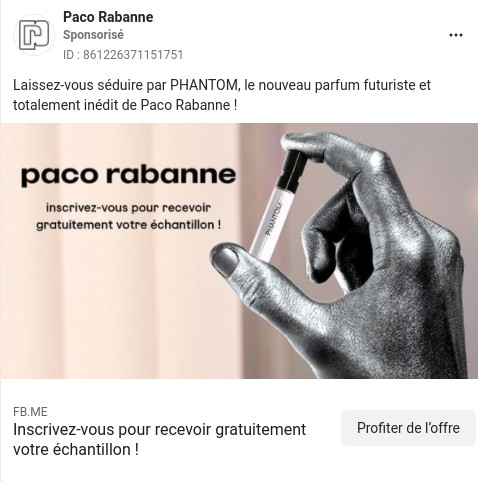parfum Phantom de Paco Rabanne