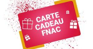 100 cartes cadeaux FNAC de 10 euros offertes