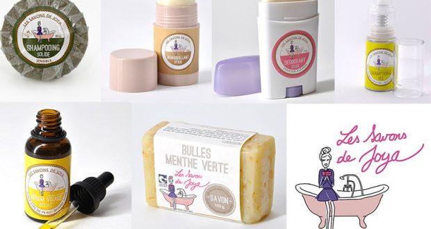 20 gammes complètes Les Savons de Joya offertes
