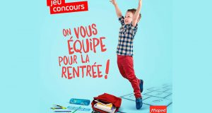 20 lots de fournitures scolaires Maped offerts