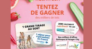 2000 couteaux Nutrifresh offerts (Valeur unitaire 9.90 euros)