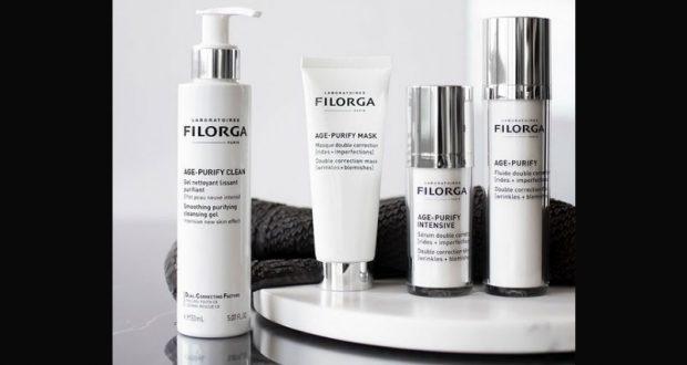 3 lots de 4 produits cosmétiques Filorga offerts