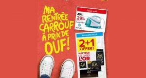 Catalogue Carrefour Market du 24 août au 6 septembre 2021