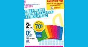 Catalogue E.Leclerc du 3 août au 4 septembre 2021
