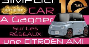 Gagnez une voiture Citroën Ami électrique (Valeur 6990 euros)