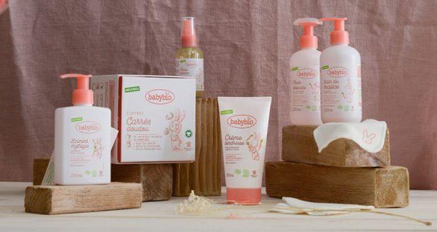 Une gamme de 6 produits de soins Babybio offerte