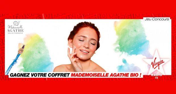 10 coffrets de cosmétiques Mademoiselle Agathe offerts