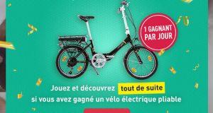 10 vélos électriques pliables offerts