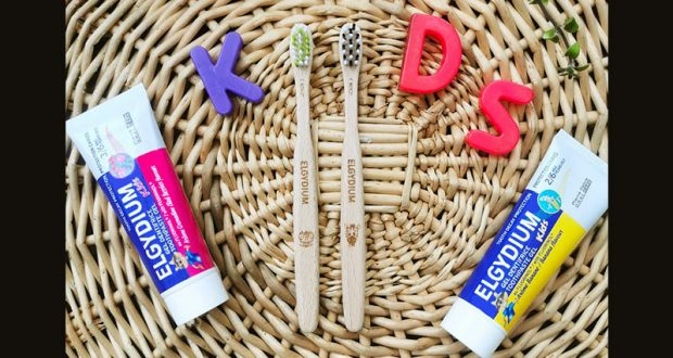 15 brosses à dents Elgydium Kids avec un tube de dentifrice offerts