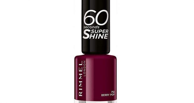 16 vernis à ongles 60 Seconds Super-Shine Rimmel à tester