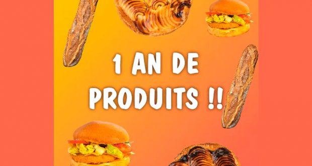 17 lots de 1 an de produits Marie Blachère offerts