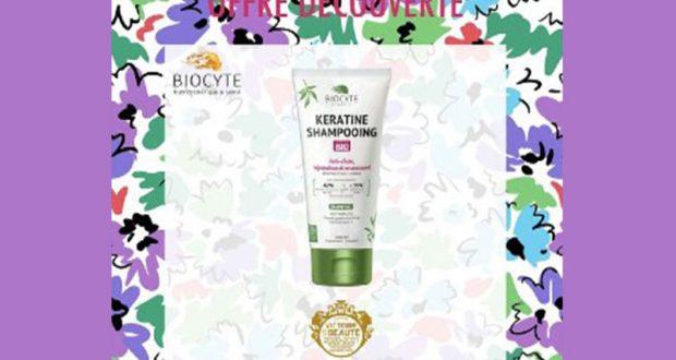 20 Keratine Shampooings de Biocyte offerts