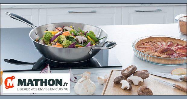 20 woks en inox Mathon offerts (valeur unitaire 70 euros)