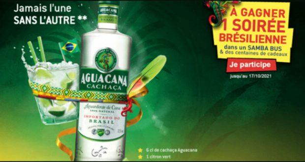 "200 lots de 2 bracelets ""Fitas"" et 100 lots de 2 verres Aguacana offerts"
