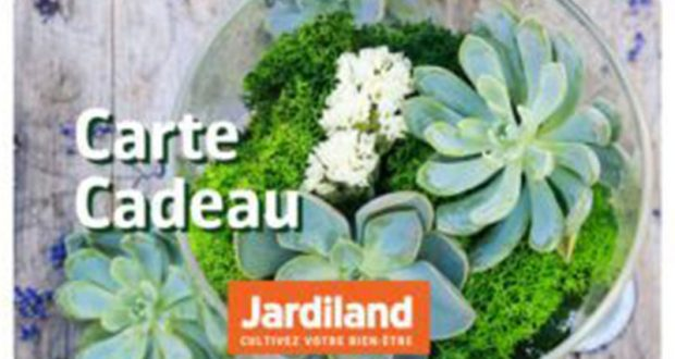 25 cartes cadeaux Jardiland de 50 euros offertes