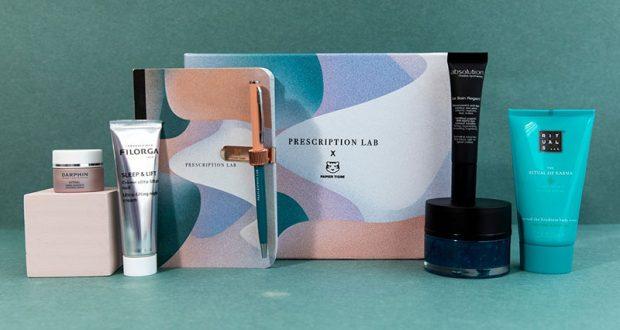 3 box beauté Prescription Lab offertes