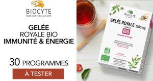 30 Gelée Royale Bio de Biocyte à tester