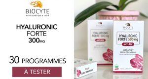 30 Hyaluronic Forte 300mg de Biocyte à tester
