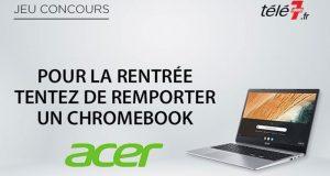 4 ordinateurs portables Chromebook Acer offerts