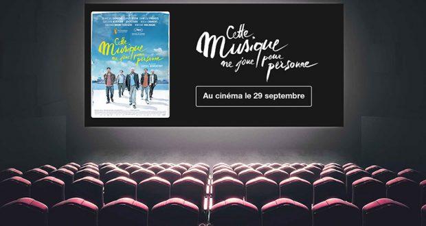 """50 lots de 2 places pour le film """"Cette musique ne joue pour personne"""""""