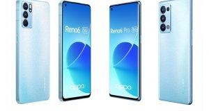 6 smartphones Oppo Reno6 5G offerts