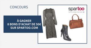 8 bons d'achat Spartoo de 50 € offerts
